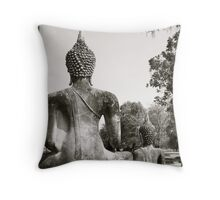 Thai Buddha II Throw Pillow