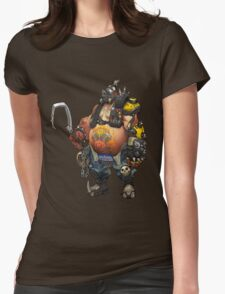 Overwatch Roadhog Womens Fitted T-Shirt