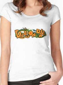 DragonBall (Logo) Women's Fitted Scoop T-Shirt