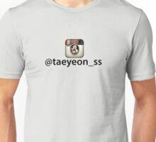 Taeyeon(taengstagram) Unisex T-Shirt
