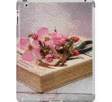 Old book in pink iPad Case/Skin