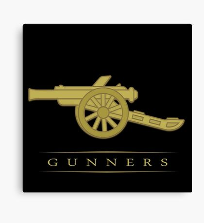 Gunners arsenal Canvas Print