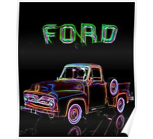 1955 Ford F150 Poster