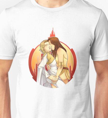 Gallifrey OTP: Leela/Romana Unisex T-Shirt