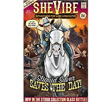 SheVibe Presents Sliquid Silver - The Studio Collection - Cover Art Photographic Print