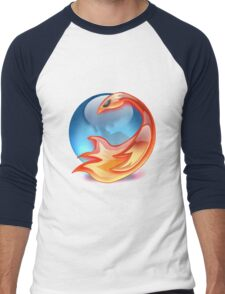 FIREFOX FAN Men's Baseball ¾ T-Shirt