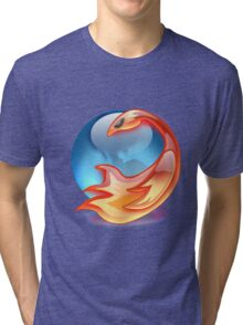 FIREFOX FAN Tri-blend T-Shirt