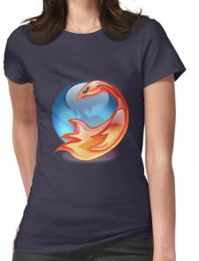 FIREFOX FAN Womens Fitted T-Shirt