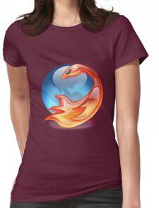 FIREFOX FAN Womens Fitted T-Shirt