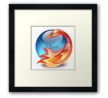FIREFOX FAN Framed Print