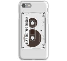 Play the Tape Through iPhone Case/Skin