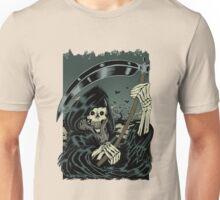 Grim Reaper Halloween Skeleton - Scary Horror Films Unisex T-Shirt