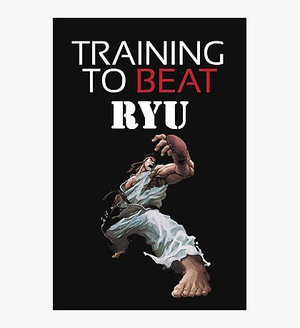 Training Ryu Photographic Print