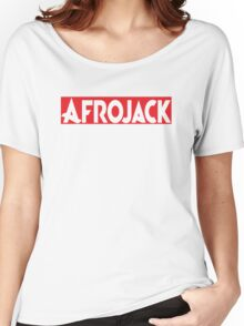 AFROJACK RED Women's Relaxed Fit T-Shirt