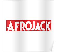 AFROJACK RED Poster