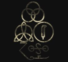 PAGAN SYMBOLS - EXTREMELY DISTRESSED by LadyEvil