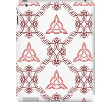 ornament like east triangles and forms like squares iPad Case/Skin