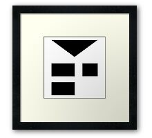 EarthBound -- Starman Insignia Framed Print