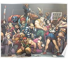 Street Fighter Legend Poster