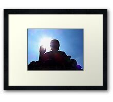 Hong Kong Big Buddha II Framed Print