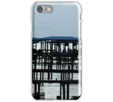 Docks at the Blue Hour iPhone Case/Skin