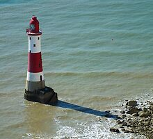 Beachy Head Lighthouse by Ludwig Wagner