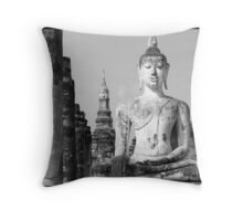 Thai Buddha III Throw Pillow