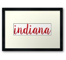 Indiana University Framed Print