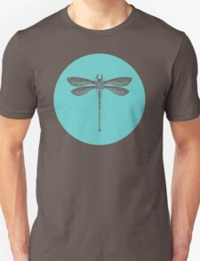 Dragonfly made of Beetles, Ants and Sycamore seed pods Unisex T-Shirt