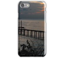 Sunrise at the Dock iPhone Case/Skin