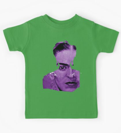 FRIDA - shirt version - purple Kids Tee