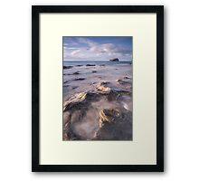 Incoming Tide - longer exposure Framed Print