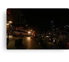 The Yarrah walk Melbourne  Canvas Print