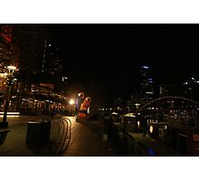 The Yarrah walk Melbourne  Photographic Print