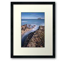 Bass & Fissure Framed Print
