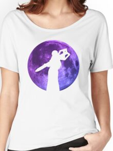 Sheele Moon Anime Manga Shirt Women's Relaxed Fit T-Shirt