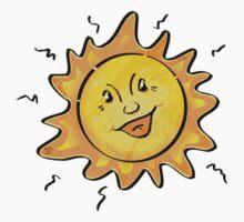Smiling Sun Shine Kids Tee