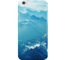 Birds View on the Alps (Velvia) iPhone Case/Skin