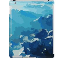Birds View on the Alps (Velvia) iPad Case/Skin