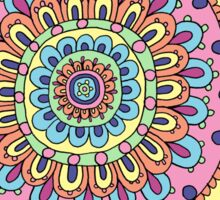 Basic Mandala (Color) Sticker