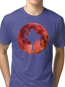 Moon Anime Manga Shirt Tri-blend T-Shirt