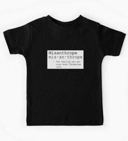 Misanthrope Kids Tee