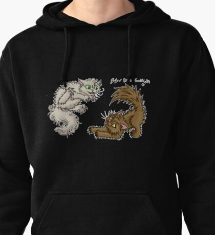 Kittens Playing Pullover Hoodie