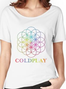 coldplay design by.damar wulan street Women's Relaxed Fit T-Shirt