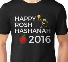 Happy Rosh Hashanah 2016 Unisex T-Shirt