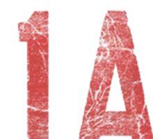 A1A Florida Logo Sticker