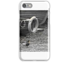 Duck and a Boat iPhone Case/Skin