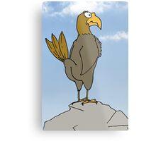Butt Hawk Metal Print