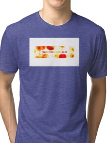 Year of the Rooster 2029 Tri-blend T-Shirt