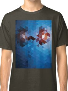 Abstract Geometric Triangle Pattern Classic T-Shirt